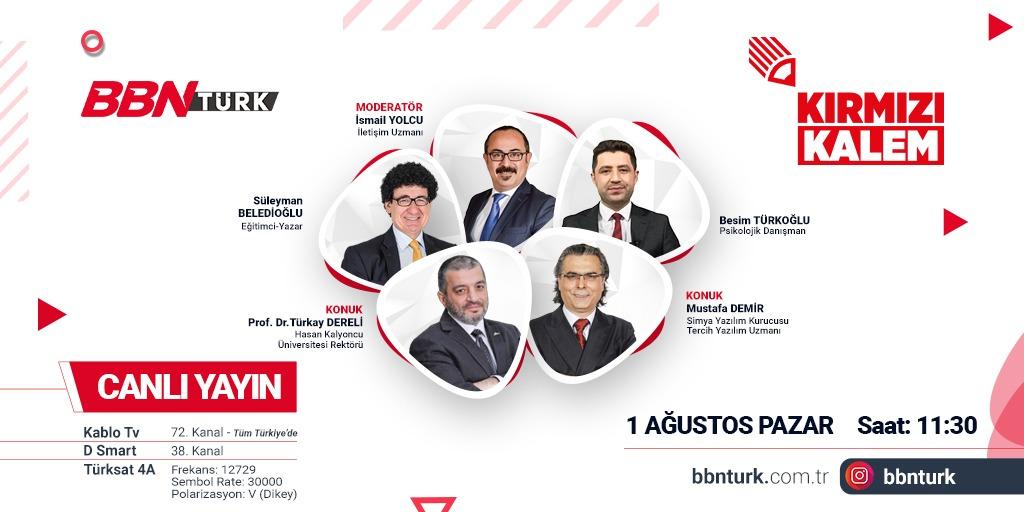 BBN Türk TV Kırmızı Kalem Programı